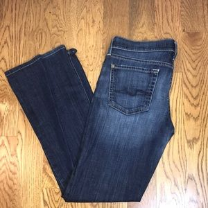 7 for all man kind, bootcut Sz. 30
